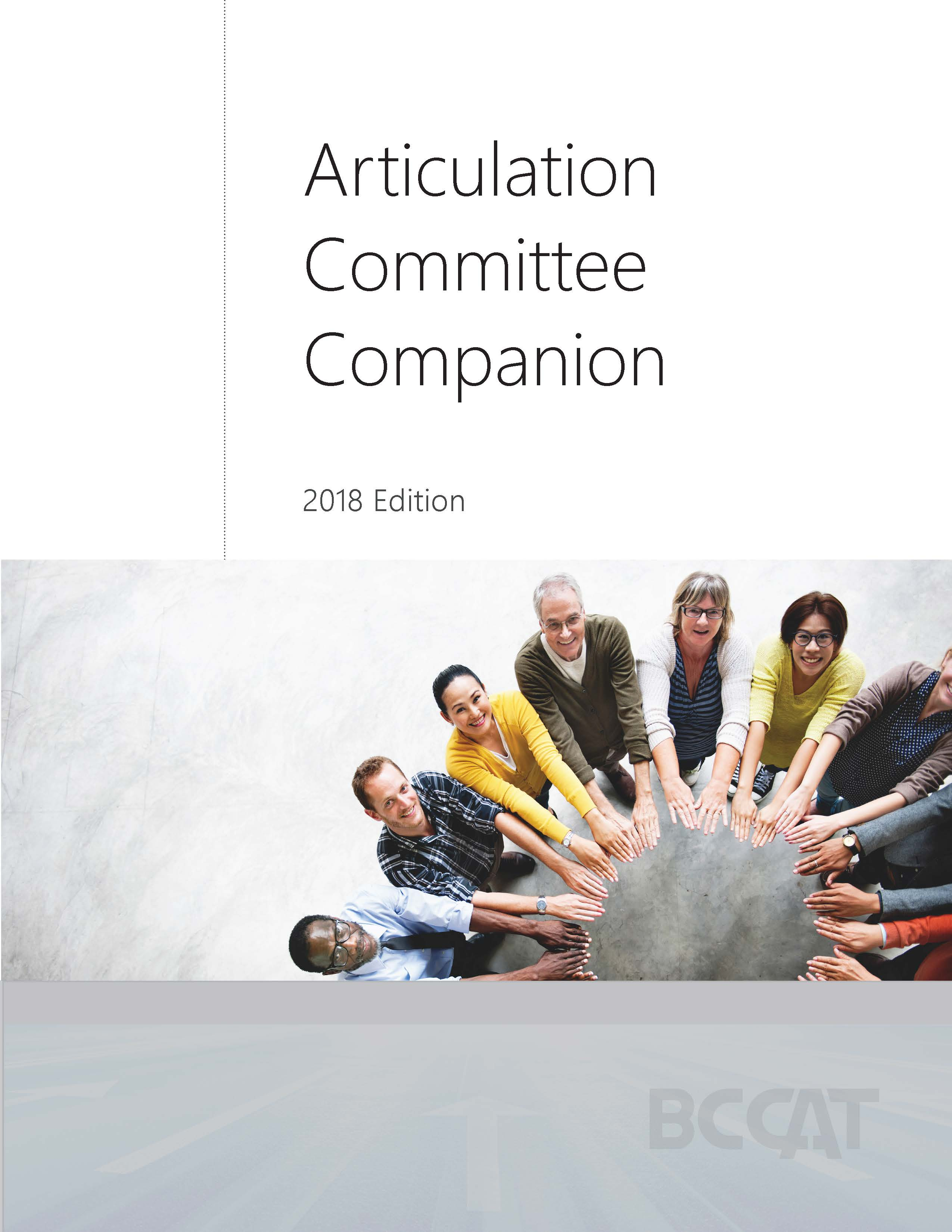 Articulation Committee Companion